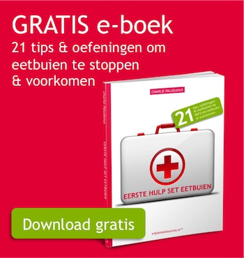Gratis e-boek om eetbuien te stoppen en voorkomen