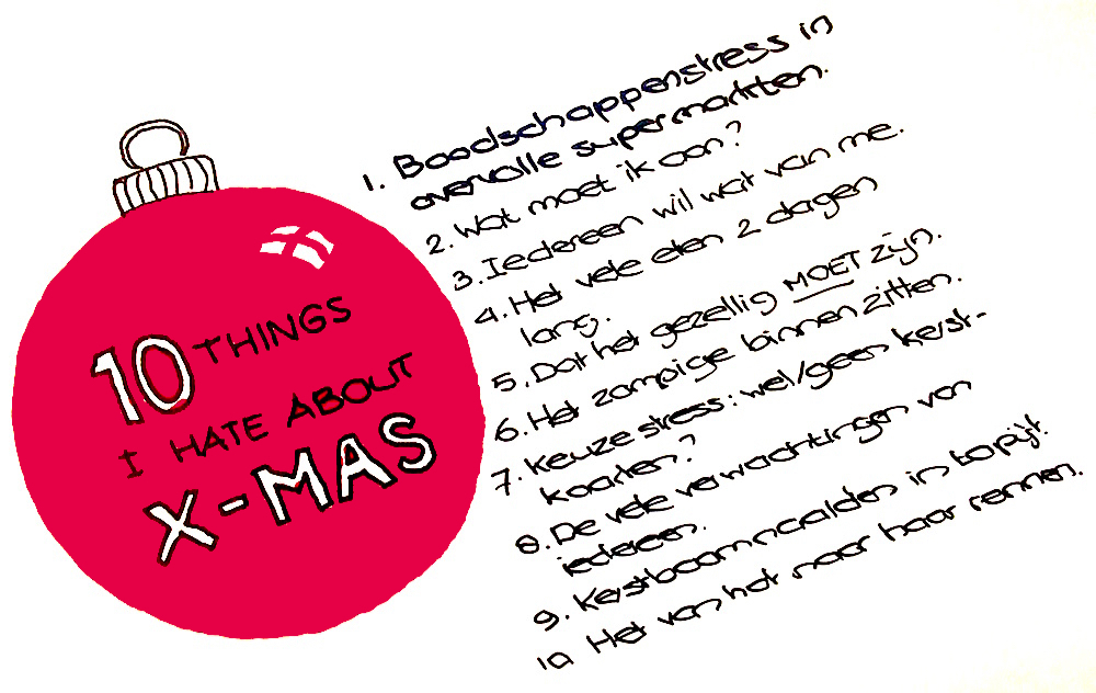 10 things I hate about X-mas