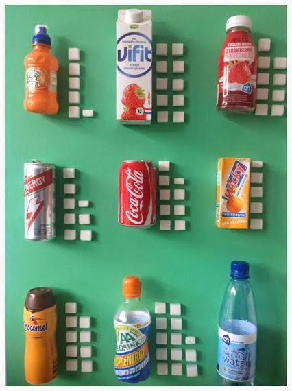 Suiker in dranken