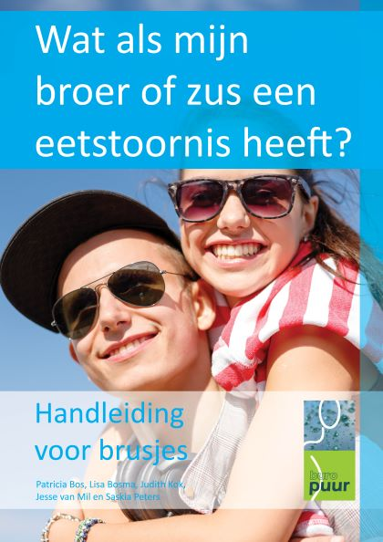 Afbeelding van gratis folder, handleiding 'Wat als mijn broer of zus een eetstoornis heeft' van Buro Puur.